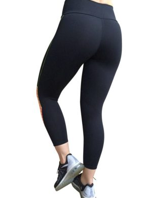 CAJUBRASIL 5636 Sexy Leggings Brazilian Color Black