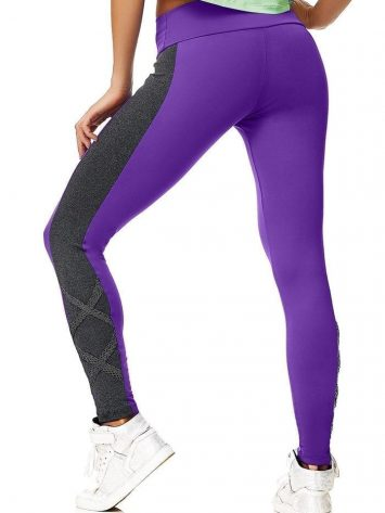 CAJUBRASIL 5938 Sexy Leggings Brazilian Street Purple