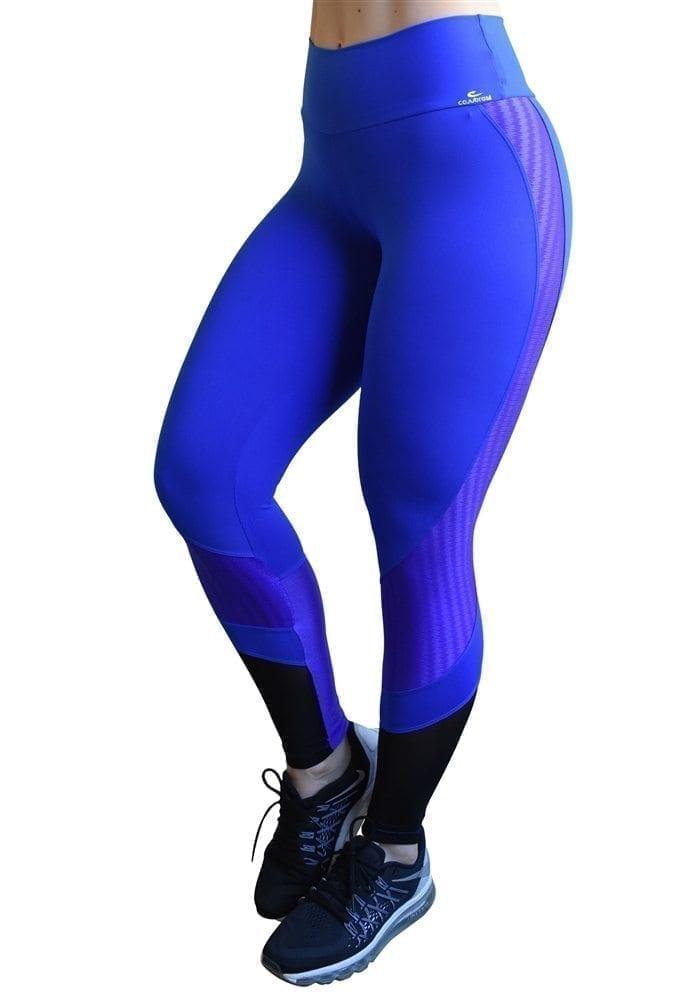 CAJUBRASIL 6269 Sexy Leggings Brazilian Training Blue