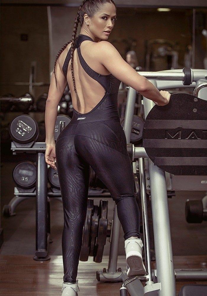 SUPERHOT Sexy Workout  Leggings Jumpsuit Romper MAC633