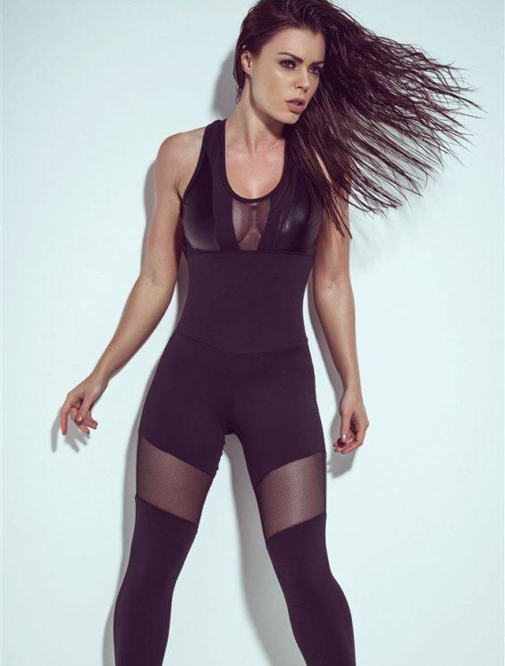 SUPERHOT Sexy Workout  Leggings Jumpsuit Romper MAC646
