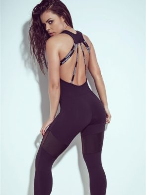 SUPERHOT Sexy Workout  Leggings Jumpsuit Romper MAC646