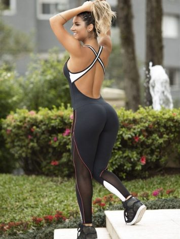 OXYFIT Jumpsuit SHOW - Sexy Rompers, Cute Workout 1-Piece
