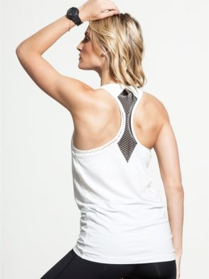 ALALA Tank Tops Signature Tank in Bone Sexy Workout Tops