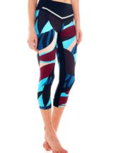 L'URV Capri Leggings Angel Baby Red Multi Sexy Workout Tights