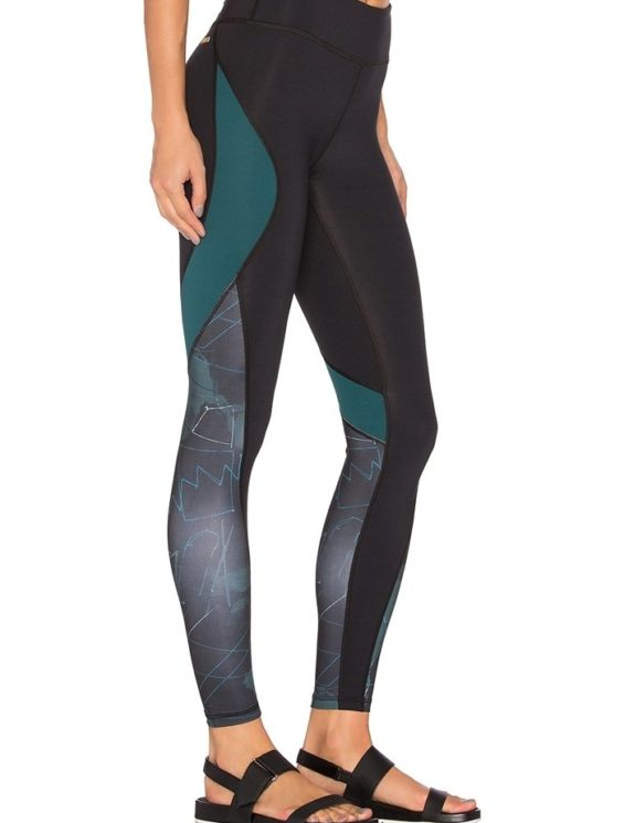 ALALA Leggings Edge Ankle Tight in BK Camo Colliage Sexy Workout Tights
