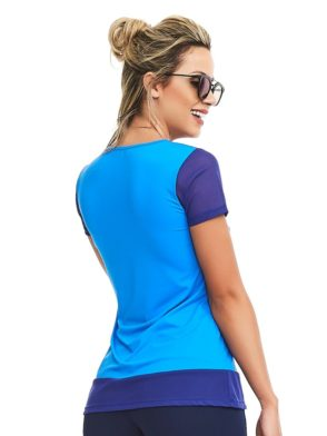 CAJUBRASIL Top 8148 Thankful - Sexy T-Shirt - Sexy Yoga Top
