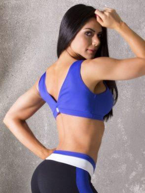 dbda2548532e1a CANOAN Sports Bra TOP 70102 Purple Sexy Workout Tops
