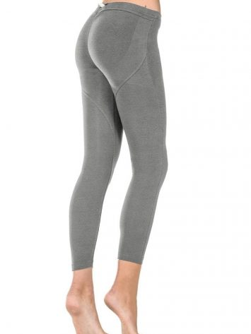 FREDDY WR.UP SHAPING EFFECT - LOW WAIST - 7/8 LEGGINGS SCRUNCHY BUTT Gray