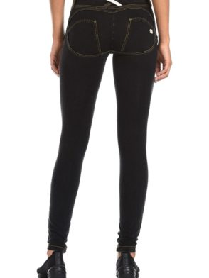 FREDDY WR.UP Shaping Effect - Low Waist - Skinny - Denim Effect Dark Wash