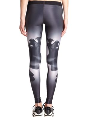 ULTRACOR Leggings High Lux Ink Print Sexy Workout Clothes Yoga Leggings