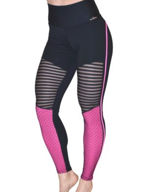 CAJUBRASIL Leggings 8143 Heart Butt Sexy Yoga Leggings BK