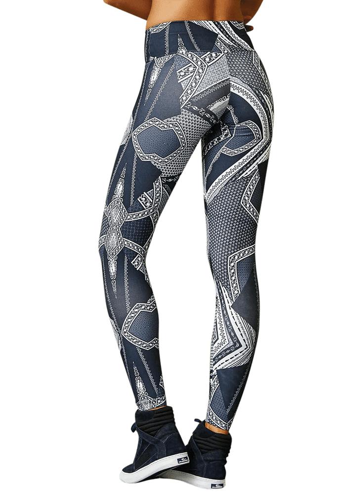 c079550904ba CAJUBRASIL 7904 Sexy Leggings Brazilian Abstract Print - Superhot ...
