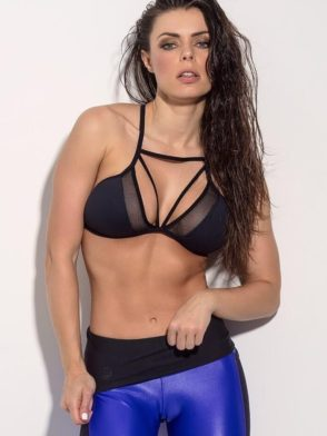SUPERHOT Sports Bra TOP952 Sexy Workout Tops Cute Yoga Bra