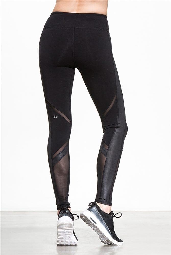 be044e2fb9 ALO Yoga Sexy Epic Leggings Sexy Pilates Leggings Black