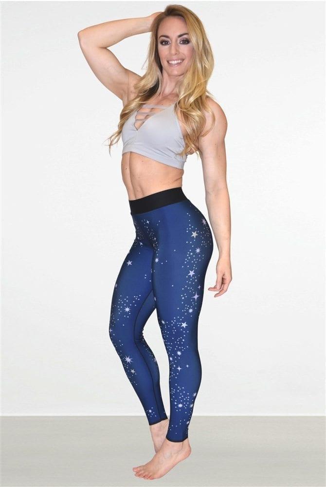 ULTRACOR Leggings Silk Celeste Leggings Sexy Workout Clothes Yoga Leggings