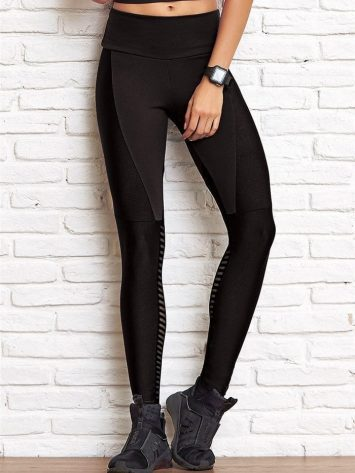 CAJUBRASIL Leggings 8130 Future Sexy Yoga Leggings BK