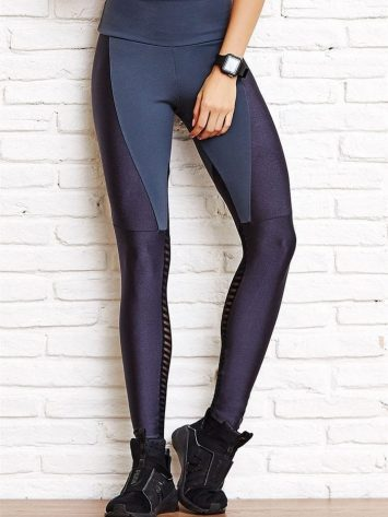 CAJUBRASIL Leggings 8130 Future Sexy Yoga Leggings Charcoal