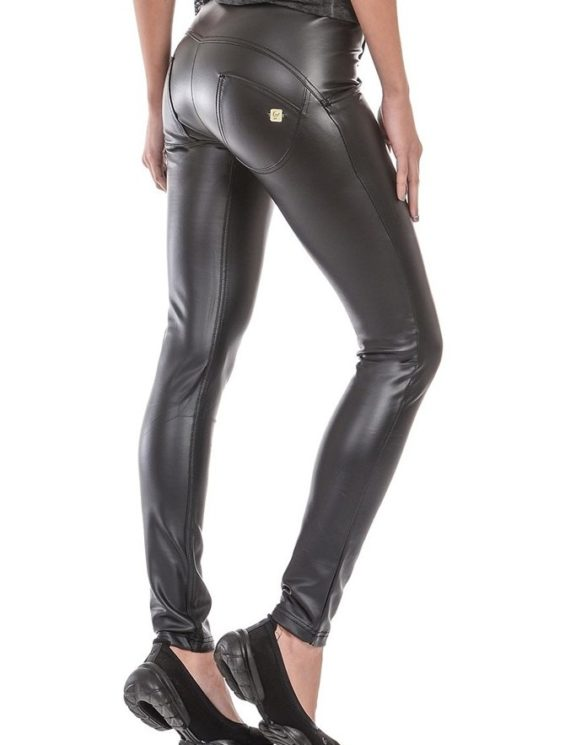 FREDDY WR.UP SHAPING EFFECT – REGULAR WAIST – SKINNY – FAUX LEATHER