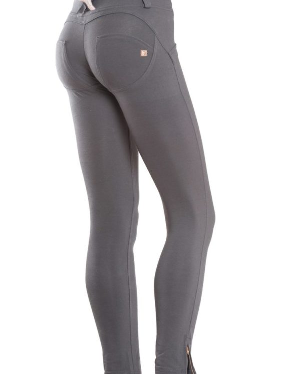 FREDDY WR.UP Shaping Effect – Low Waist – 7/8 Skinny Pants- Gray