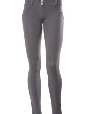 FREDDY WR.UP Shaping Effect - Low Waist - 7/8 Skinny Pants- Gray