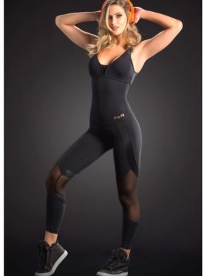 OXYFIT Jumpsuit Way 15192 BK – Sexy Rompers, Cute Workout 1-Piece