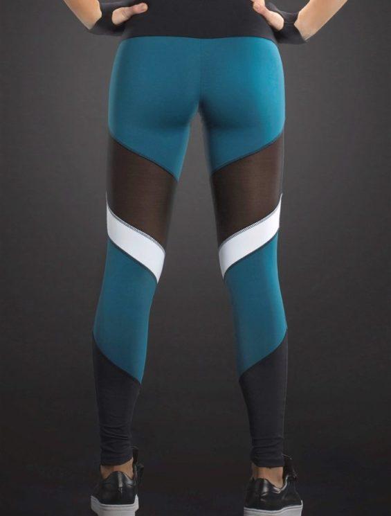 OXYFIT Leggings Frame 64050 Teal- Sexy Workout Leggings