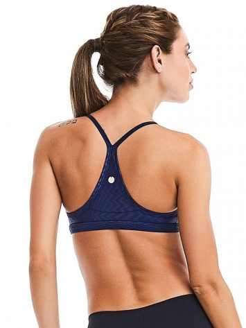 CAJUBRASIL Sports Bra 9018 Purple Sexy Bra Top Yoga Pilates Bra