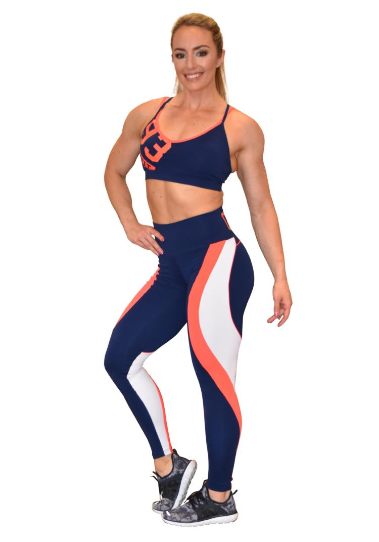 OXYFIT Bra Top Motion 17309 Navy- Sexy Sports Bras