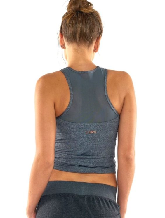 L'URV Tank Survival Singlet Sexy Workout Top