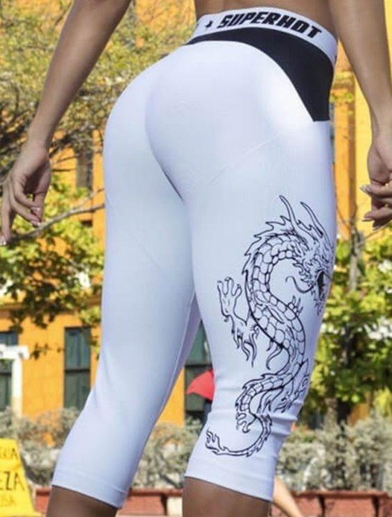 SUPERHOT Sexy Capris CAL971 Sexy Leggings Yoga Capris