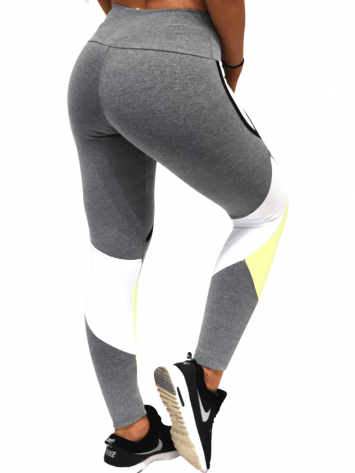 OXYFIT Leggings Cutouts 64056 Charcoal- Sexy Workout Leggings