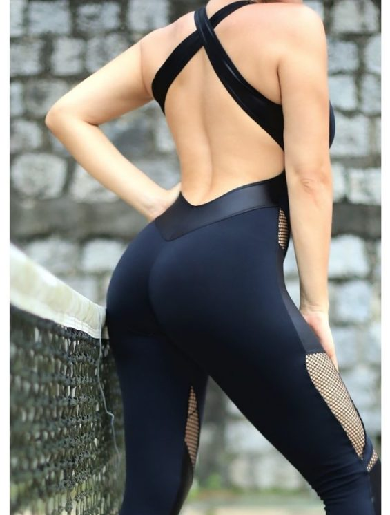 DYNAMITE Jumpsuit ML2012 Fusion BK-Sexy One-Piece Romper