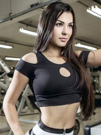 DYNAMITE Sports Bra Top T2015 Innocent Sinner BK-Sexy Tops