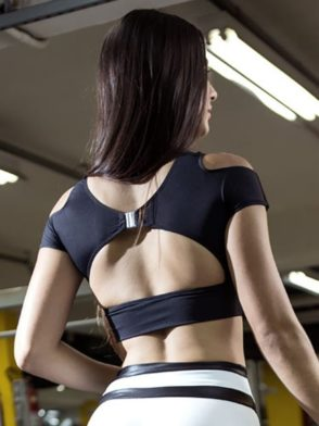 DYNAMITE Sports Bra Top T2015 Innocent Sinner BK-Sexy Tops