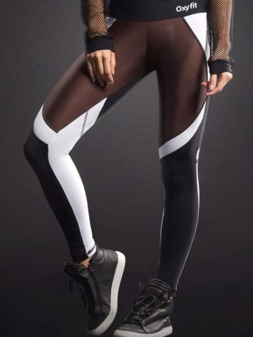 OXYFIT Leggings Original 64063 BK/CH- Sexy Workout Leggings