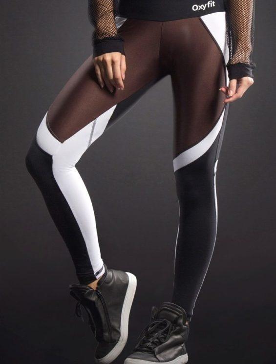 OXYFIT Leggings Original 64063 BK/CH- Sexy Workout Leggings