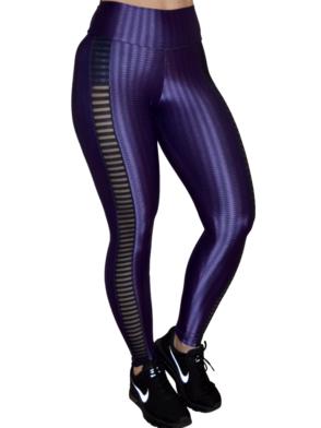 CAJUBRASIL Leggings 8120 Violet -Sexy leggings - Brazilian Leggings