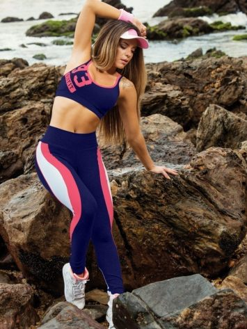 OXYFIT Leggings and Bra Top Motion- Sexy Workout Yoga Set
