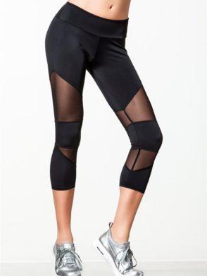 ONZIE 270 Sexy Workout Capris Yoga Mesh Capris