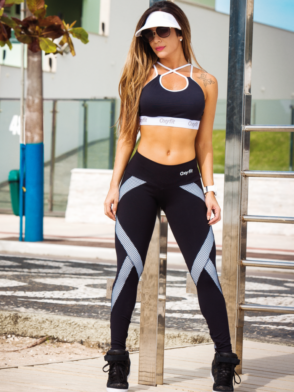 OXYFIT Leggings and Bra Top UP- Sexy Workout Yoga Set