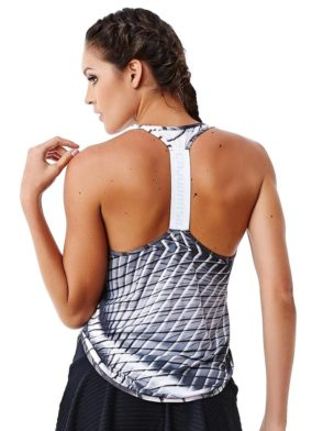 CAJUBRASIL 6213 Tank Top – Regata Sport Metal – Sexy Workout Tops