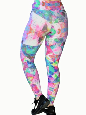 CAJUBRASIL leggings 8176 Patches- Sexy Surf Swim Yoga Leggings