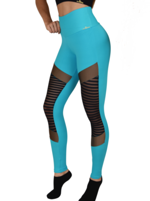 CAJUBRASIL Leggings 9044 Glam Sexy Leggings Brazilian Teal