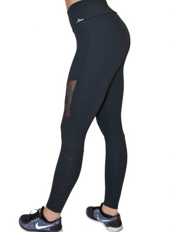 CAJUBRASIL Leggings 9046 Number BK Sexy Leggings Brazilian