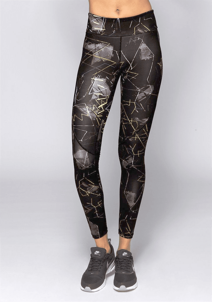 Alala Leggings Captain Ankle tight Jagged-front-bestfitbybrazil