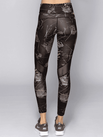 Alala Leggings Captain Ankle tight Jagged-rear-bestfitbybrazil