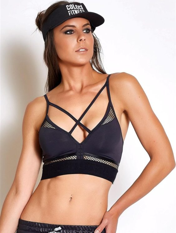 COLCCI FITNESS Sports Bra 465700116 Black Mesh