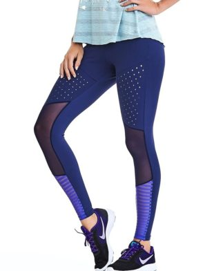 CAJUBRASIL Leggings 9040 Premium Sexy Leggings Brazilian Navy
