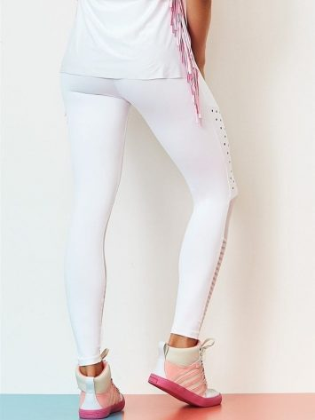 CAJUBRASIL Leggings 9040 Premium Sexy Leggings Brazilian White